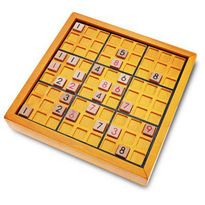Classic Number Theme Wooden Puzzle Toy