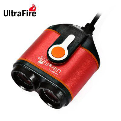 UltraFire UH - S5 1000LM Cree T6 LED Bicycle Light with Rechargeable Battery Pack