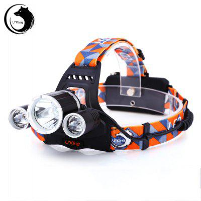 Buy BLACK UKing ZQ X821 LED Headlamp for $19.73 in GearBest store