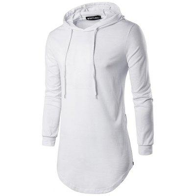 WHATLEES Hooded Long Sleeve T Shirts