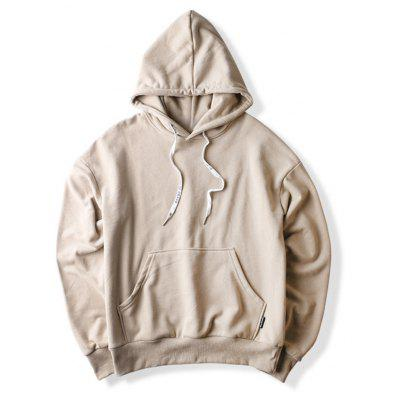 Big Pocket Tan Hoodie