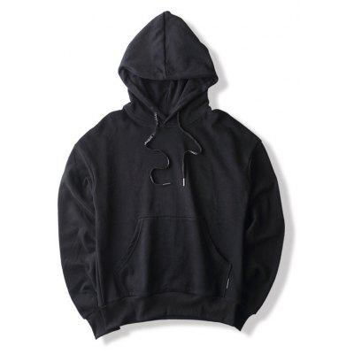 Big Pocket Long Sleeve Hoodie