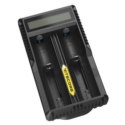 New Arrival Nitecore UM20 Smart Charger with High Definition LCD Display for 18650 18490 18350 10440 BatteriesChargers<br>New Arrival Nitecore UM20 Smart Charger with High Definition LCD Display for 18650 18490 18350 10440 Batteries<br><br>Brand: Nitecore<br>Charging Cell Qty: 2<br>Charging Cell Type: Lithium Ion<br>Circuit Detection: Yes<br>Compatible: 16340 (RCR123), 18650, 18490, 18350, 17670, 17500, 14500, 10440<br>Input Voltage: DC 5V<br>LCD Screen: Yes<br>Model: UM20<br>Output Voltage: 4.2V / 5V<br>Over Charging Protection: Yes<br>Over Discharging Protection: Yes<br>Over Voltage Protection: Yes<br>Package Contents: 1 x Nitecore UM20 Smart 2 Slots Charger with High Definition LCD Display, 1 x Micro USB Cable<br>Package size (L x W x H): 16.00 x 7.00 x 5.00 cm / 6.3 x 2.76 x 1.97 inches<br>Package weight: 0.1300 kg<br>Product size (L x W x H): 10.00 x 5.60 x 3.50 cm / 3.94 x 2.2 x 1.38 inches<br>Product weight: 0.0770 kg<br>Protected Circuit: Yes<br>Short Circuit Protection: Yes<br>Type: Charger