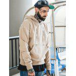 Big Pocket Tan Hoodie - TAN COLOR