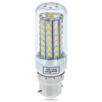 15W B22 SMD  -  2835 72 LEDs 3000  -  3200K 1350Lm Clear LED Corn Lamp