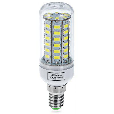 E14 12W 56 x SMD - 5730 LED 2520Lm 6000  -  6500K Transparent Sheathing LED Corn Bulb