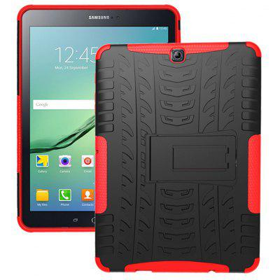 Double-protection Back Case with Bracket for Samsung Galaxy Tab S2 T810