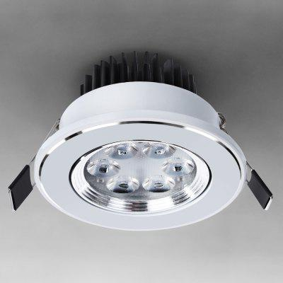 WBR - 005 SMD - 2835 3W 85  -  265V 280lm  -  350lm Adjustable 6 - LED Warm White Recessed Ceiling Down Bulb
