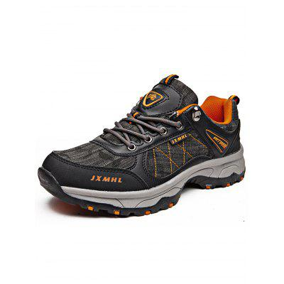 Durable Jean Cloth Men Hiking Shoes