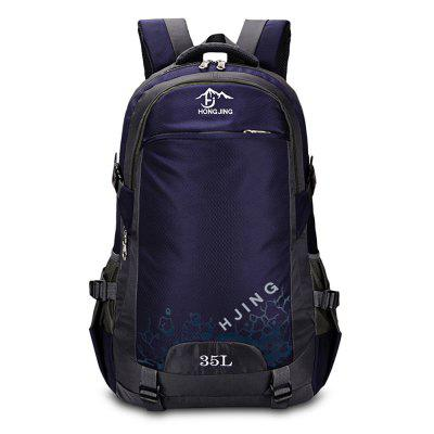 HONGJING 1031 Nylon 35L Mountaineering Backpack