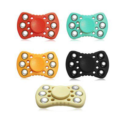 ABS ADHD Fidget SpinnerFidget Spinners<br>ABS ADHD Fidget Spinner<br><br>Center Bearing Material: Stainless Steel Bearing<br>Center Bearing Model: R188<br>Color: Black<br>Frame material: ABS<br>Package Contents: 1 x Gyro<br>Package size (L x W x H): 7.00 x 10.00 x 7.50 cm / 2.76 x 3.94 x 2.95 inches<br>Package weight: 0.0750 kg<br>Product size (L x W x H): 5.50 x 3.50 x 1.30 cm / 2.17 x 1.38 x 0.51 inches<br>Product weight: 0.0500 kg<br>Swing Numbers: 2<br>Type: Dual Blade, Steel Ball