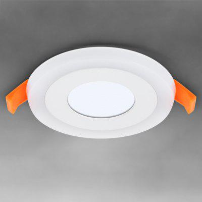 Zweihnder 540Lm 10 x SMD 2835 6W LED Ceiling Light