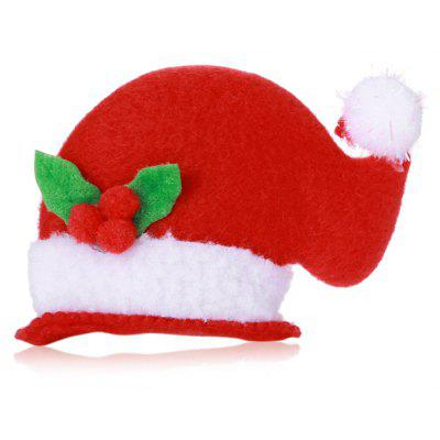 3D Flashy Santa Claus Snowman Hat Style Hairpin