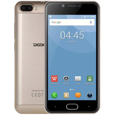 DOOGEE Shoot 2 3G Smartphone 5.0 inch Android 7.0 MTK6580 Quad Core 1.3GHz 5.0MP Dual Rear Cameras Touch Sensor Image