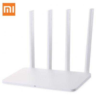 Original Xiaomi Mi 300Mbps WiFi Router 3C English Version - EU PLUG WHITE