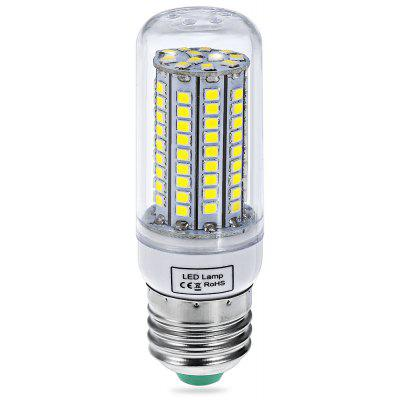 Buy COOL WHITE 5W E27 SMD 2835 102 LEDs 480Lm LED Corn Lamp with Silver Edged 220 240V for $6.09 in GearBest store