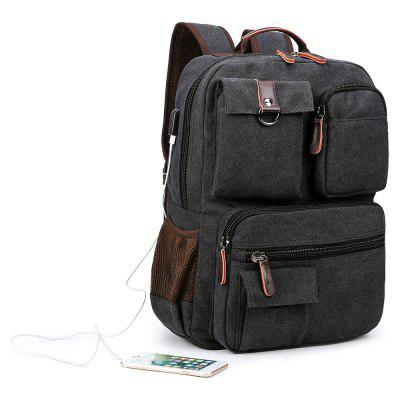 Kabden 8617 Leisure BackpackBackpacks<br>Kabden 8617 Leisure Backpack<br><br>Bag Capacity: 15L<br>Brand: Kabden<br>Capacity: 11 - 20L<br>Features: Ultra Light<br>For: Casual, Sports, Camping, Traveling<br>Gender: For Men<br>Material: Canvas<br>Package Contents: 1 x Kabden 8617 Backpack<br>Package size (L x W x H): 32.00 x 8.00 x 34.00 cm / 12.6 x 3.15 x 13.39 inches<br>Package weight: 0.9400 kg<br>Product size (L x W x H): 31.00 x 11.00 x 42.00 cm / 12.2 x 4.33 x 16.54 inches<br>Product weight: 0.8000 kg<br>Strap Length: 45 - 80cm<br>Style: Fashion<br>Type: Backpack