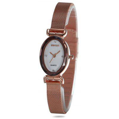 WeiQin W4841 Women Oval Dial Quartz Watch