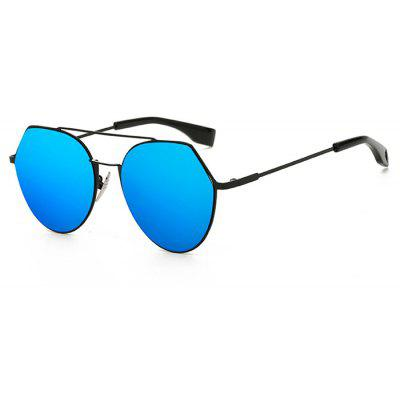 SENLAN Angular Round Sunglasses