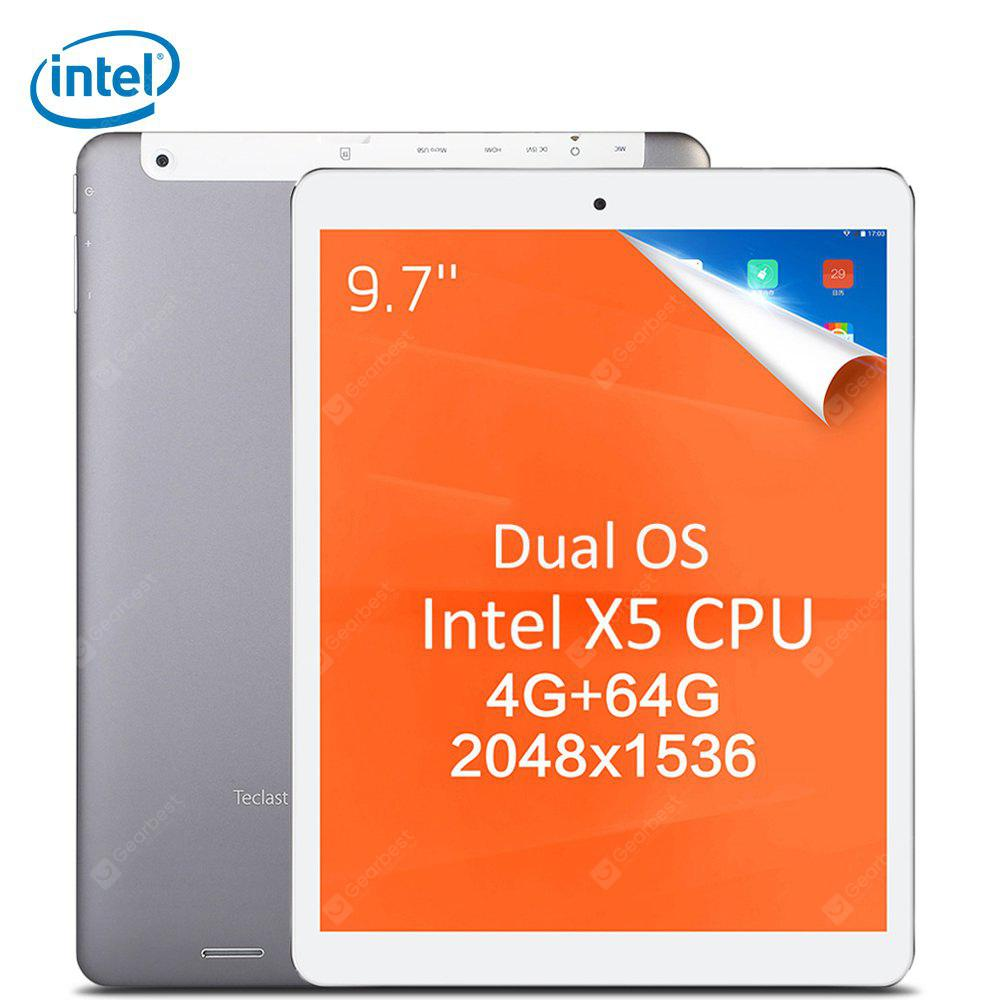 Teclast X98 Plus II 2 in 1 Tablet PC - GRAY INTEL CHERRY TRAIL X5 Z8350