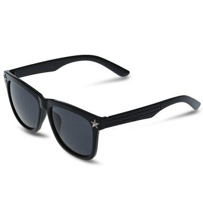 SENLAN Square Sunglasses with Colored Lens