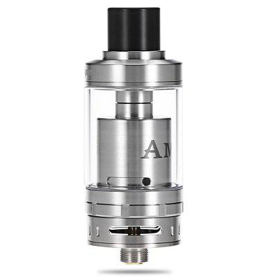 Original Geekvape AMMIT RTARebuildable Atomizers<br>Original Geekvape AMMIT RTA<br><br>Brand: Geekvape<br>Coil Quantity: Single coil<br>Material: Glass, Stainless Steel<br>Model: AMMIT<br>Overall Diameter: 22mm<br>Package Contents: 1 x Geekvape AMMIT RTA, 1 x Extra Glass Tank, 1 x Accessory Bag<br>Package size (L x W x H): 8.00 x 4.50 x 3.50 cm / 3.15 x 1.77 x 1.38 inches<br>Package weight: 0.150 kg<br>Product size (L x W x H): 5.80 x 2.20 x 2.20 cm / 2.28 x 0.87 x 0.87 inches<br>Product weight: 0.085 kg<br>Rebuildable Atomizer: RBA,RTA<br>Tank Capacity: 3.5ml<br>Thread: 510<br>Type: Rebuildable Tanks, Rebuildable Atomizer