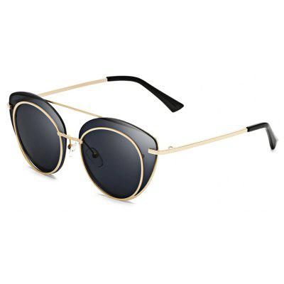 Buy SENLAN 2264 Sunglasses, GOLD FRAME + GREY LENS, Apparel, Glasses, Stylish Sunglasses, Men's Sunglasses for $15.24 in GearBest store