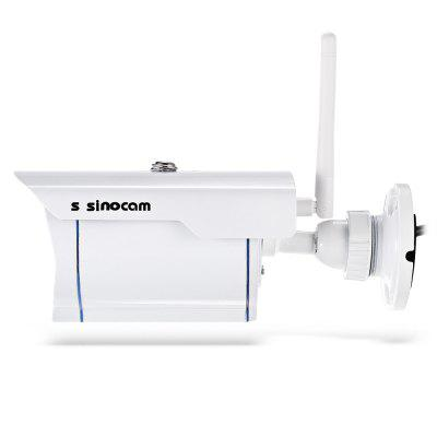 Szsinocam SN - IPC - 3009FCSW20 720P 2.0MP WiFi IP CameraIP Cameras<br>Szsinocam SN - IPC - 3009FCSW20 720P 2.0MP WiFi IP Camera<br><br>Alarm Notice: Email Photo<br>APP: cam360<br>APP Language: Chinese,English<br>Backlight Compensation: Yes<br>Brand: Szsinocam<br>Color: White<br>Compatible Operation Systems: Microsoft Windows 98/ ME /2000/ XP,Windows 7,Windows 8,Windows Vista<br>Environment: Indoor,Outdoor<br>Exterior Material: Metal<br>FOV: 72 degree<br>Frame Rate (FPS): 1 - 25fps<br>Image Adjustment: Brightness,Contrast,Hue<br>Infrared Distance: about 20m<br>Infrared LED: 3pcs array LEDs<br>IP camera performance: Night Vision, Support video control, Screenshot, Remote Control, Real-time video capture and recording, Motion Detection, Backlight Compensation<br>IP Mode: Dynamic IP address, static IP address<br>Language: Chinese (Traditional),English<br>Local-storage: Micro SD card up to 64GB<br>Maximum Monitoring Range: 25 -35m<br>Minimum Illumination: 0.01 Lux<br>Mobile Access: Android,IOS<br>Model: SN-IPC-3009FCSW20<br>Motion Detection Distance: 25 - 35m<br>Network Port: 100Base-TX RJ-45<br>Online Visitor (Max.): 6<br>Operate Temperature (?): -50 - 45 Deg.C<br>Package Contents: 1 x IP Camera, 1 x English User Manual, 1 x Power Adapter ( with 80cm US Plug Power Cable ), 1 x CD, 3 x Screw, 3 x Screw Cap, 1 x Antenna<br>Package size (L x W x H): 20.50 x 11.50 x 11.00 cm / 8.07 x 4.53 x 4.33 inches<br>Package weight: 0.6680 kg<br>Pixels: 1MP<br>Product size (L x W x H): 19.00 x 8.00 x 7.00 cm / 7.48 x 3.15 x 2.76 inches<br>Product weight: 0.4350 kg<br>Protocol: DDNS,DHCP,FTP,HTTP,HTTPS,LAN,ONVIF,P2P,PPPOE,UPNP<br>Resolution: 1280 x 720<br>S/N Ration: 48dB<br>Sensor size (inch): 1/4<br>Shape: Box Camera<br>Technical Feature: Waterproof, Infrared<br>Video Compression Format: H.264<br>Video format: AVI<br>Video Resolution: 720P<br>Video Standard: NTSC,PAL<br>Waterproof: IP67<br>Web Browser: IE,Microsoft Internet Explorer 6.0 above<br>White Balance: Yes<br>WiFi Distance: 100m ( without obstacle )<br>Wireless: WiFi 802.11 b/g/n<br>Working Voltage: 12V