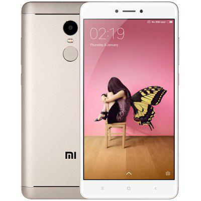 Buy GOLDEN Xiaomi Redmi Note 4 4G Phablet Global Version for $214.04 in GearBest store