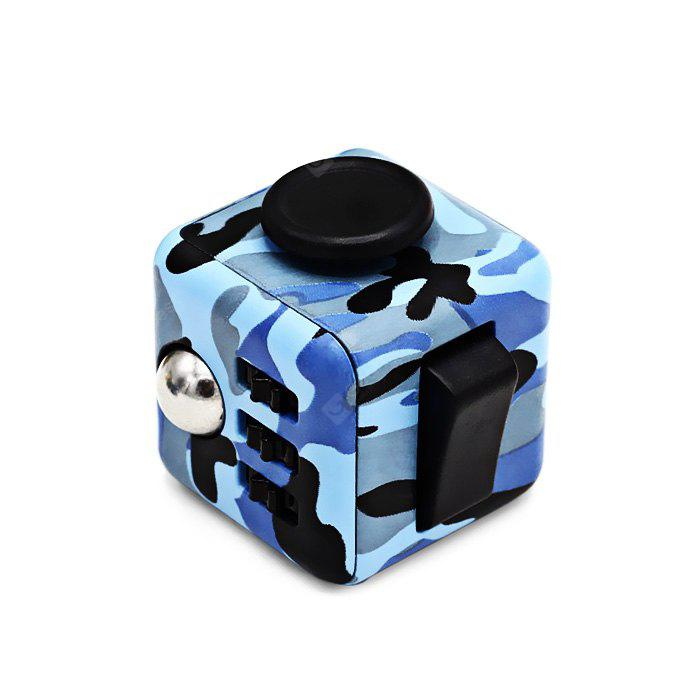 ABS Stress Reliever Fidget Magic Cube Toy for Worker