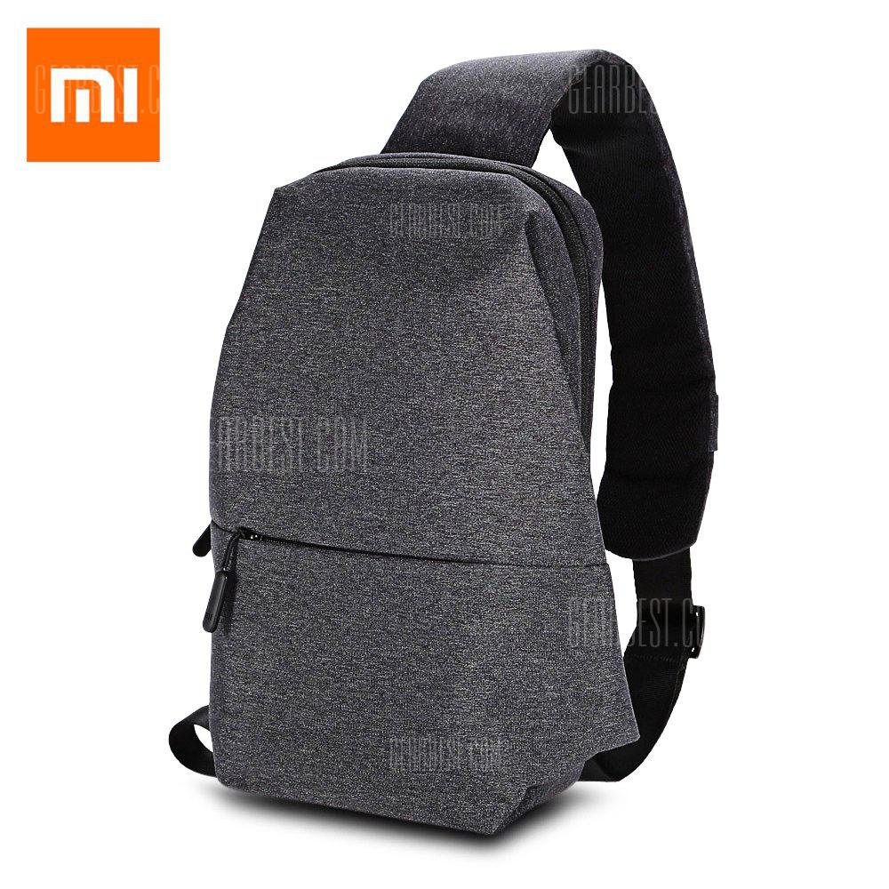 Gearbest Original Xiaomi Sling Bag - DEEP GRAY