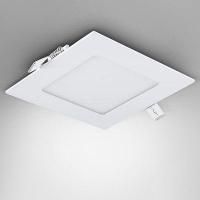 6W AC85 - 265V 450lm 4000K Natural White Square Ceiling Lamp