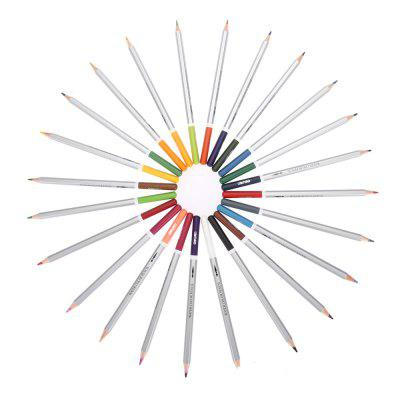 DELI 6521 Assorted Water Soluble Drawing StationeryPainting Supplies<br>DELI 6521 Assorted Water Soluble Drawing Stationery<br><br>Available Color: Multi-color<br>Brand: Deli<br>Material: Wood<br>Package Contents: 24 x Soluble Color Pencil Lead<br>Package size (L x W x H): 31.00 x 18.50 x 1.30 cm / 12.2 x 7.28 x 0.51 inches<br>Package weight: 0.450 kg<br>Product size (L x W x H): 14.30 x 0.80 x 0.80 cm / 5.63 x 0.31 x 0.31 inches