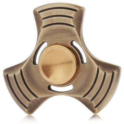 Bronze Tri Fidget Spinner Focus Toy for Stress Reliever