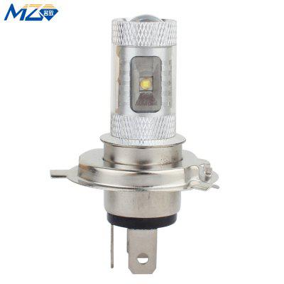 MZ H4 30W 1500Lm 6500K 6 x XT - E LED Cool White LED Car High / Low Beam Lamp ( Constant Current )