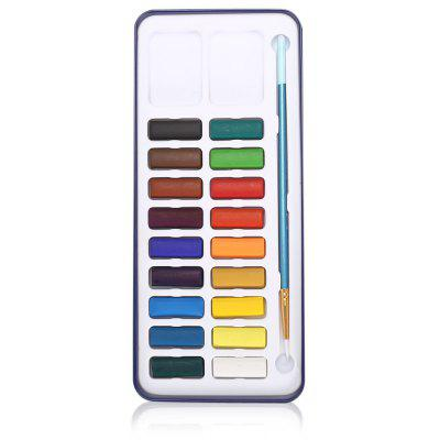 18 in 1 Solid Watercolor Paints Water Color Cake