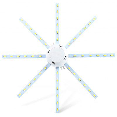 12W 960Lm SMD 5730 Octagonal LED Ceiling Lamp Fixture - 24W White