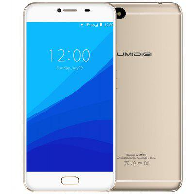 Buy GOLDEN UMIDIGI C NOTE 4G Phablet for $131.10 in GearBest store