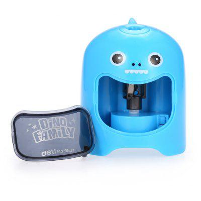 Deli 0501 Cartoon Pattern Full-automatic Pencil Sharpener