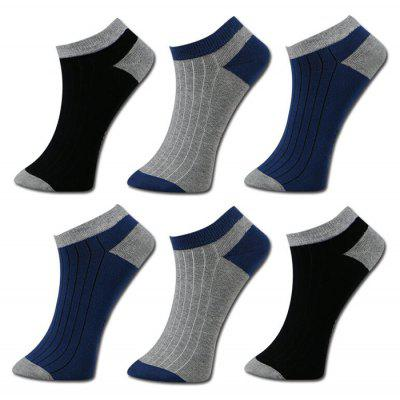 STARFROM 6 Pairs Men Casual Cotton Socks