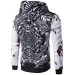 WHATLEES 3D Long Sleeve Poker Hoodie deal