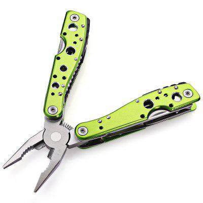 Jakemy JM-PJ1003 9 in 1 Multifunctional Folding ToolOther Tools<br>Jakemy JM-PJ1003 9 in 1 Multifunctional Folding Tool<br><br>Brand: Jakemy<br>Color: Green<br>Function: Repair<br>Material: Chrome Vanadium Steel<br>Model: JM-PJ1003<br>Package Contents: 1 x Jakemy JM-PJ1003 9 in 1 Multifunctional Folding Tool<br>Package size (L x W x H): 16.50 x 14.50 x 5.50 cm / 6.5 x 5.71 x 2.17 inches<br>Package weight: 0.2280 kg<br>Product size (L x W x H): 14.50 x 13.50 x 4.50 cm / 5.71 x 5.31 x 1.77 inches<br>Product weight: 0.1100 kg<br>Special features: 9 in 1<br>Type: Hand tools