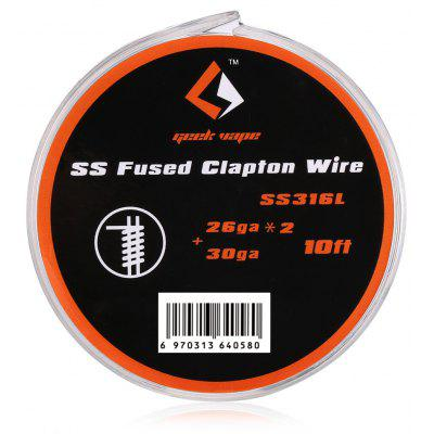Geekvape Fused Clapton Wire SS316L coupons