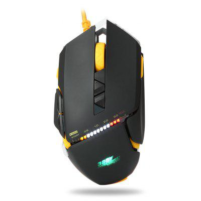 JamesDonkey 325 3000DPI Mouse USB da Gaming Cablato