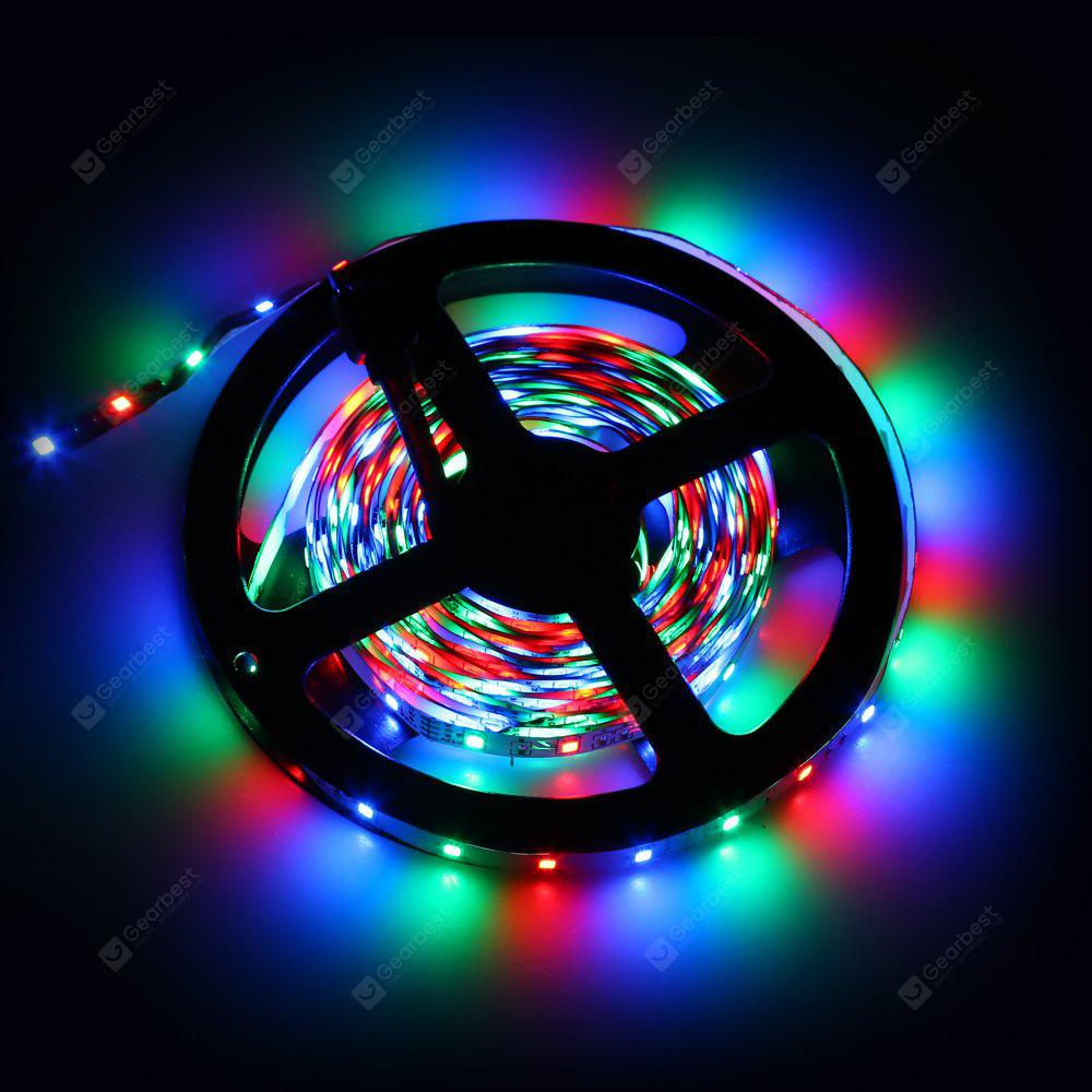 Excelvan 164ft 5m flexible strip smd3528 rgb 300leds color changing excelvan 164ft 5m flexible strip smd3528 rgb 300leds color changing led light strip kit aloadofball
