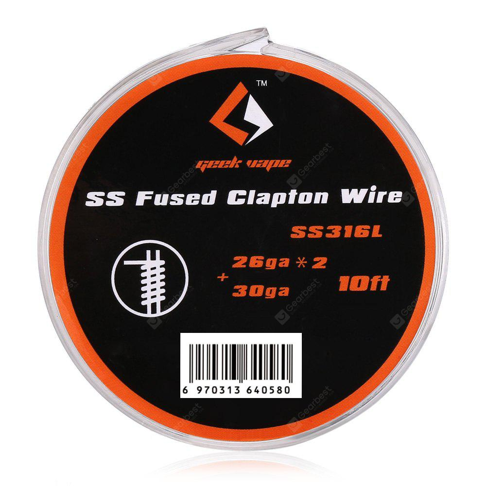 Geekvape Fused Clapton Wire SS316L - $3.59 Free Shipping|GearBest.com