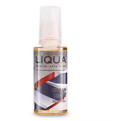 LIQUA Cuban Cigar Flavor 6mg / 30ml E-juice