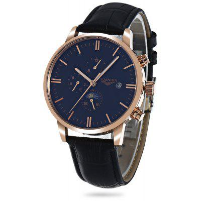 GUANQIN GJ16045 Male Auto Mechanical Watch