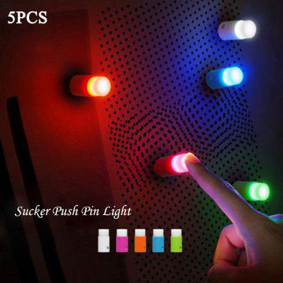 5PCS Small Push Pin Light в магазине GearBest