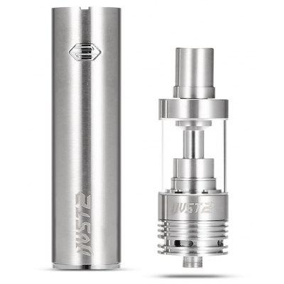 Original Eleaf iJust 2 Kit de cigarrillos de acero inoxidable con batería de 2600mAh 5.5ml Atomizador